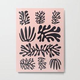 Floral illustration VI Metal Print