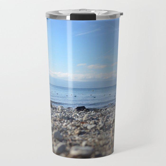Rocky Beach Descent Travel Mug
