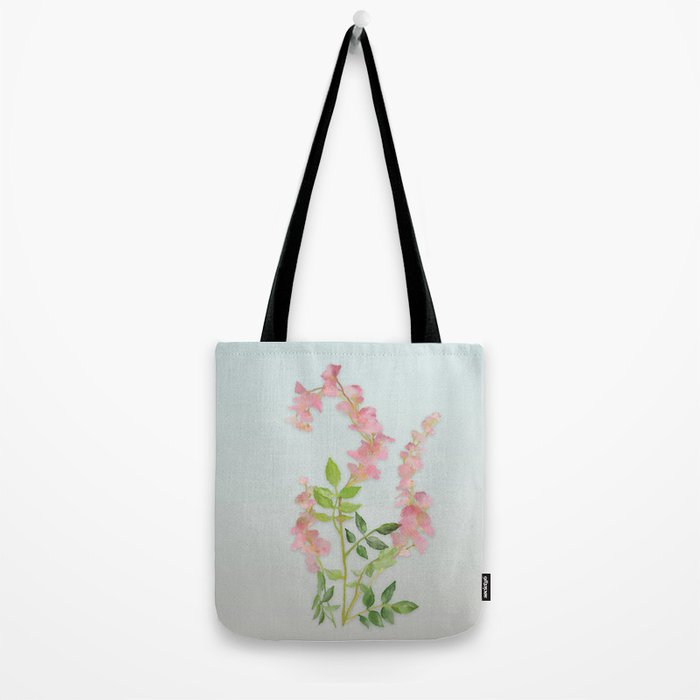 Pink Tiny Flowers Tote Bag
