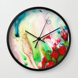 I Spilt My Cordial Wall Clock