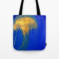 firefly Tote Bags featuring Firefly by Divine Catastrophe