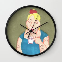 coffe Wall Clock
