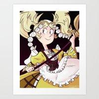 fire emblem Art Prints featuring Lissa - Fire Emblem: Awakening by brandipayne