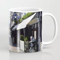 dublin Mugs featuring Dublin Streets by Ashley Callan