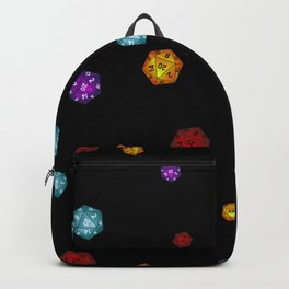 D20 Dice Backpack