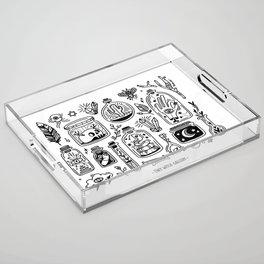 The Tiny Witch Gallery Acrylic Tray