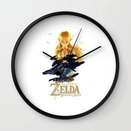 Zelda Breath of the Wild - The Silent Princess Wall Clock