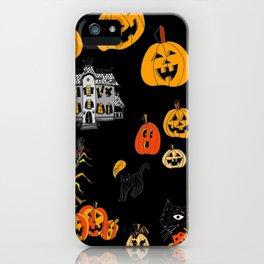 Halloween Medley iPhone Case