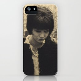 Anna Karina (Vivre Sa Vie) iPhone Case
