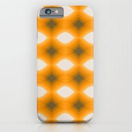 Maize Stack Pattern iPhone Case