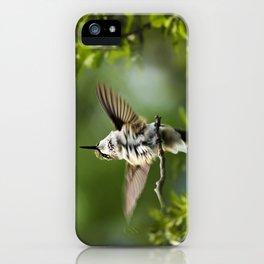 Hummingbird Happiness iPhone Case