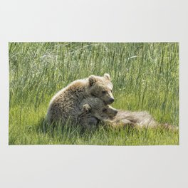 I Got Your Back - Bear Cubs, No. 4 Rug