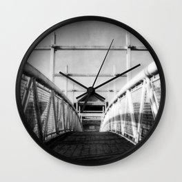 Potato Market Bridge Wall Clock