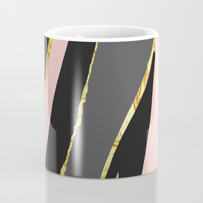 Gold and pale river Coffee Mug