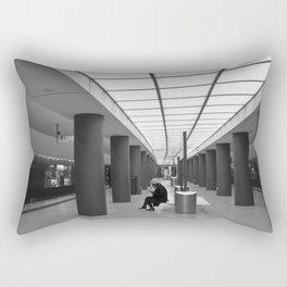 Tube-Station Brandenburg Gate in Berlin Rectangular Pillow