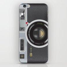 Yashica Electro 35 GSN Camera iPhone & iPod Skin