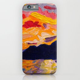 West Coast Sunset iPhone Case