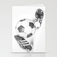 football Stationery Cards featuring Football by Dianadia
