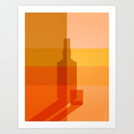 ELIXIRS / Whisky Art Print