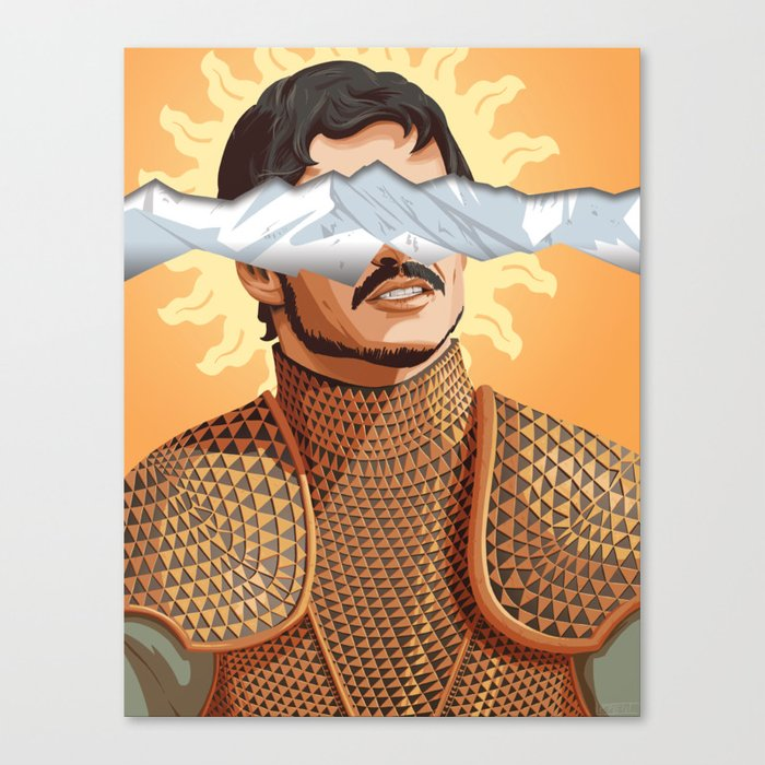 The Prince of the Sun - WORDLESS Canvas Print