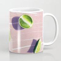 fruit Mugs featuring fruit 10 by LEEMO