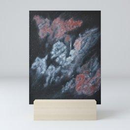 Red Nebula Mini Art Print