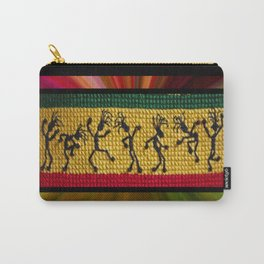 lively up reggae dancers Carry-All Pouch