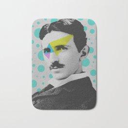 Nicola Tesla Bath Mat