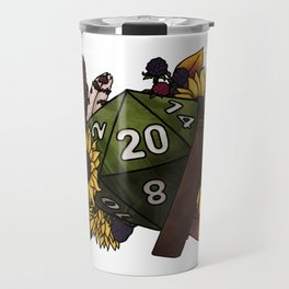 Ranger Class D20 - Tabletop Gaming Dice Travel Mug