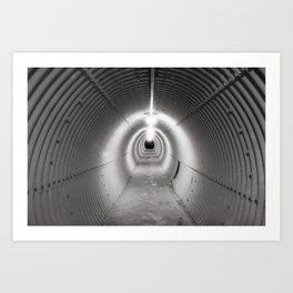 The Tunnel Art Print