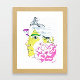 Jonsi Framed Art Print