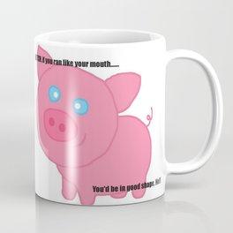 Cute pig insults you Coffee Mug