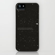 Do not go gentle into that good night.... iPhone (5, 5s) Slim Case