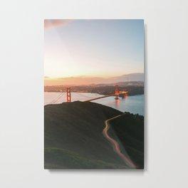 Golden Gate Bridge At Dawn - San Francisco, CA Metal Print