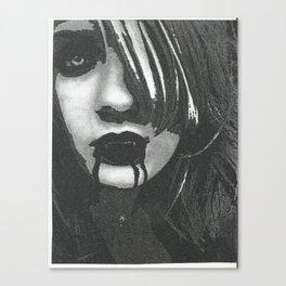 vampir of the naight Canvas Print