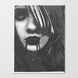 vampir of the naight Canvas Print