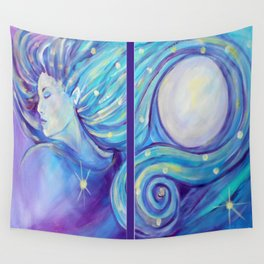 I AM the Moon and the Stars Wall Tapestry