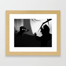 Limbo Falls Framed Art Print