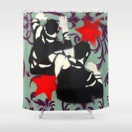 Brawl No.1 Shower Curtain
