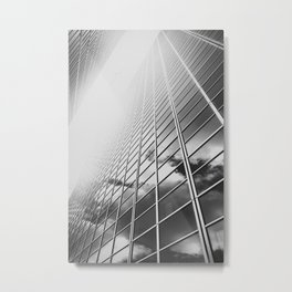 Reflector - Building - Urban I Fine art Metal Print