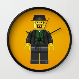Minifigure Walter White Wall Clock