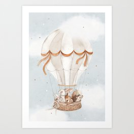 Little Explorers Art Print