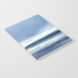 Soft winter sky Notebook