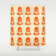 I am shy too Shower Curtain