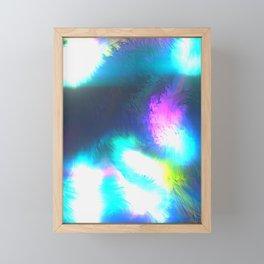 GFTNeon014 , Neon Abstract Framed Mini Art Print