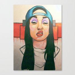 Thuggin Canvas Print