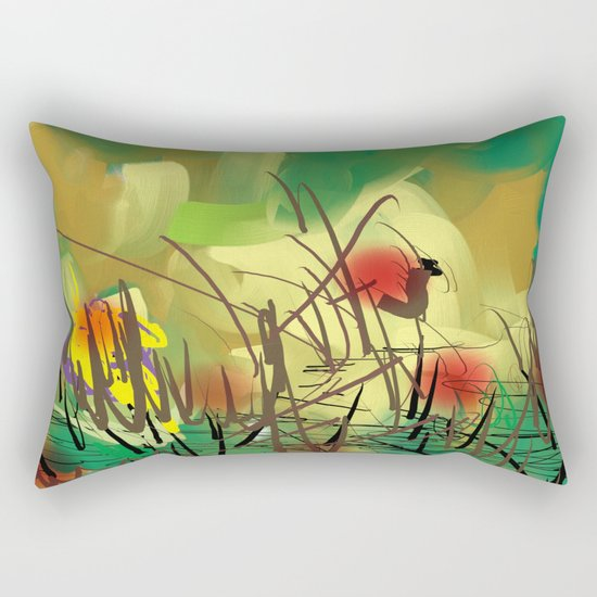 Marsh Rectangular Pillow