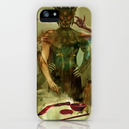 Tarot: The Magician iPhone Case