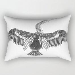 Anhinga Rectangular Pillow