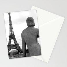 Eiffel Lady Stationery Cards